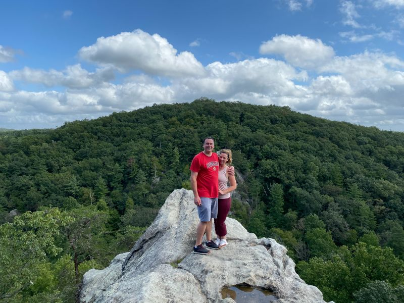Hiking at the State Park Only 15 Minutes From Our Home