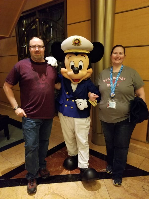 Having a Great Time With Mickey Mouse