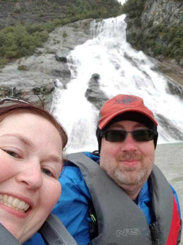 Enjoying a Canoe Trip in Alaska
