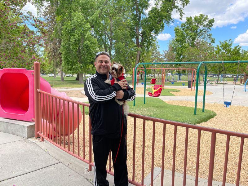 Taking Casper to the Park