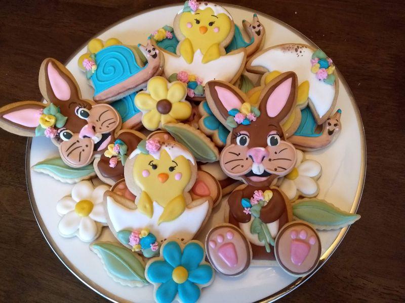 One of Allie's Custom Cookie Platters