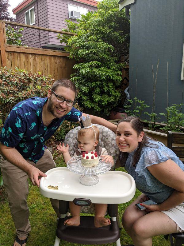 Celebrating Theo's First Birthday