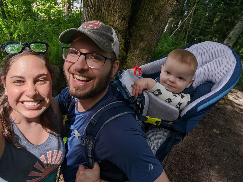 Backpacking as a Family and Savoring the Outdoors