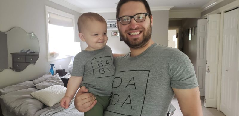 Matching Shirts for Father's Day