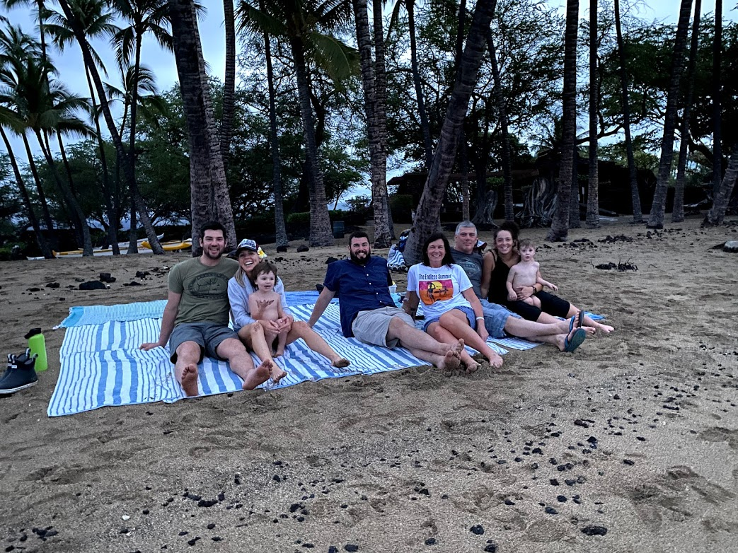 With Family in Hawaii