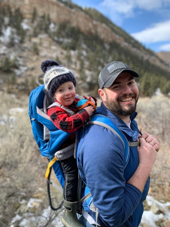 Hiking With Dad!