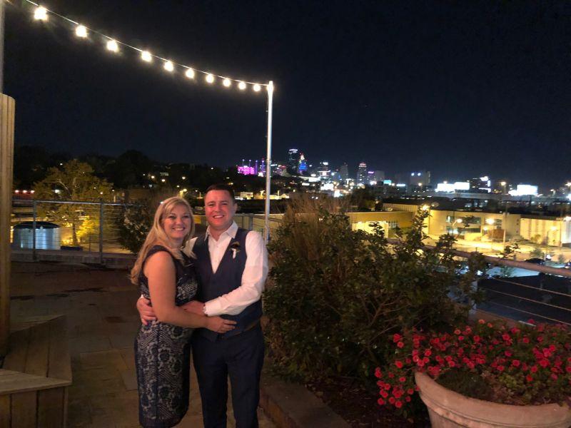Attending a Friend's Wedding Downtown
