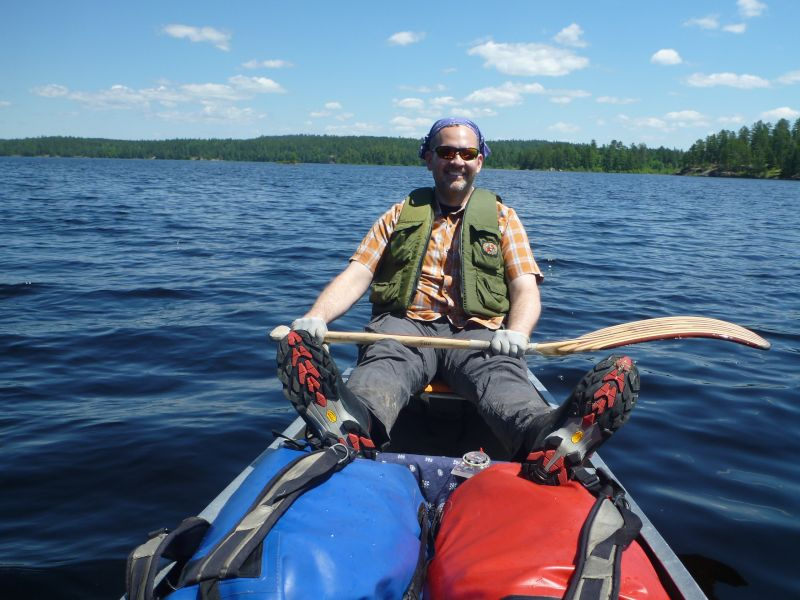 Canoeing in the Boundary Waters