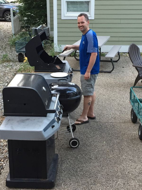 BBQing in the Summertime