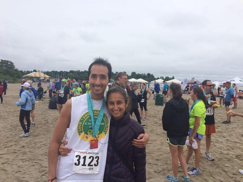 Jason Finishes Another Half Marathon