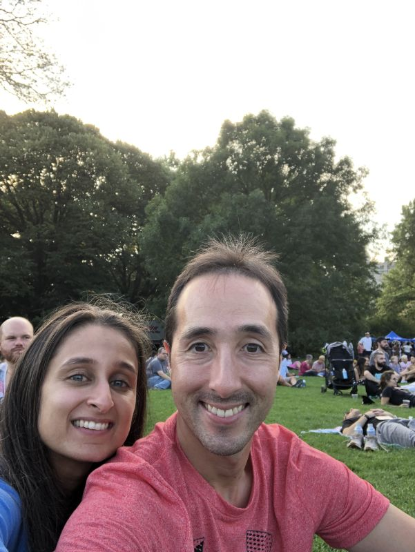 Picnic at the Global Citizen's Festival in New York