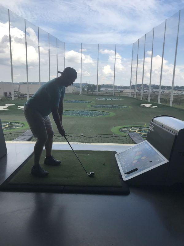 Fun at Top Golf