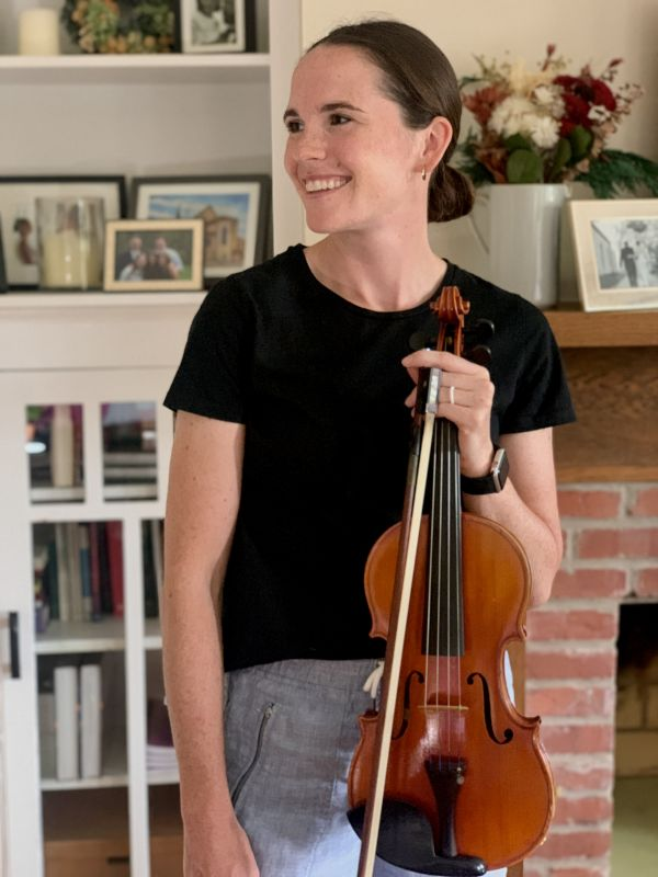 Anna Has Played the Violin Since She Was 5-Years-Old!