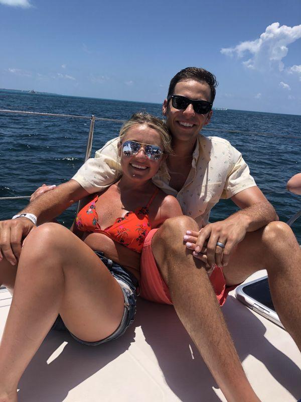 Relaxing Catamaran Ride