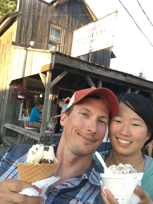 Getting Ice Cream in Michigan