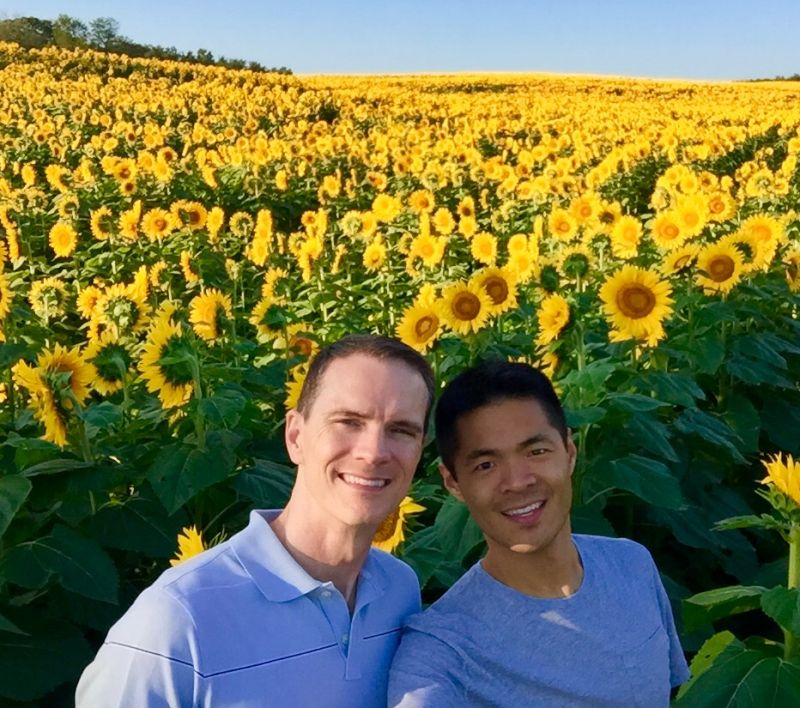 In a Sea of Sunflowers - The Perfect Kansas Sunshine