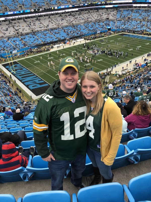 Packers vs. Panthers Game