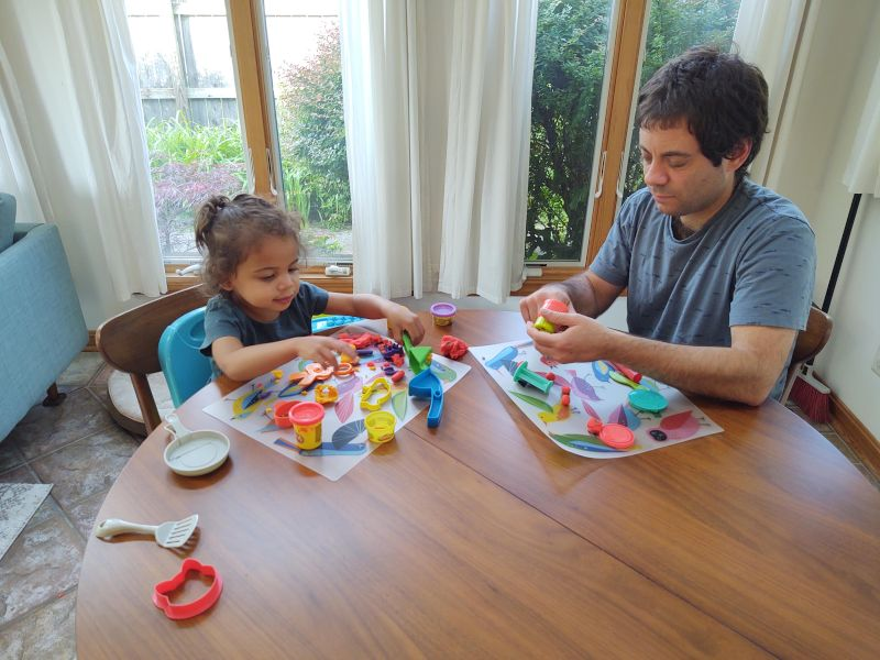 Play-Doh With Daddy