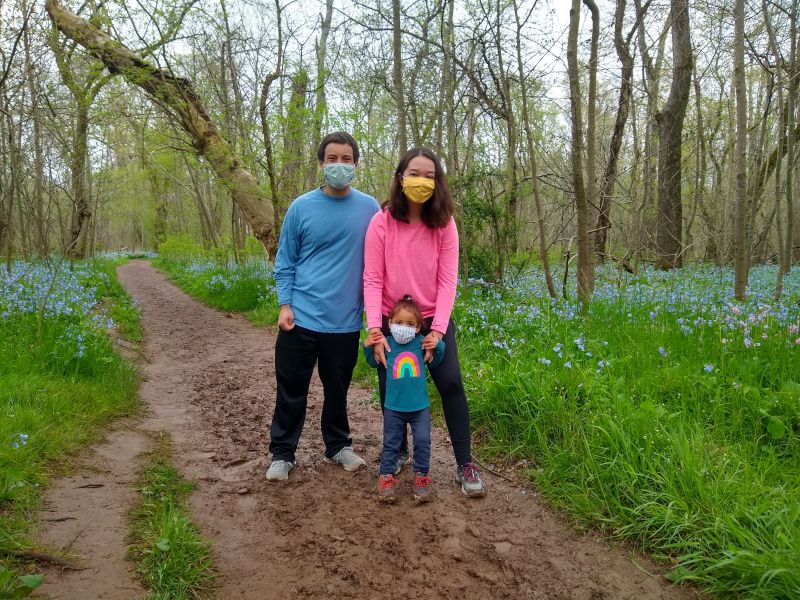 Muddy Morning on the Bluebell Trail