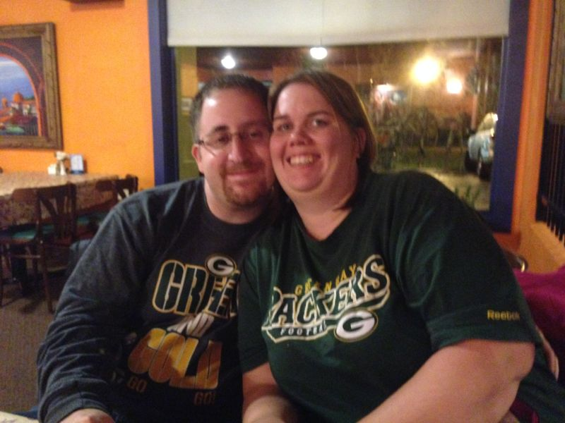 Cheering On the Packers