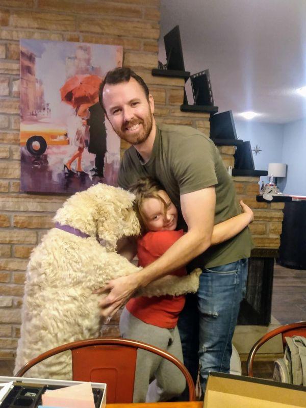 Doggy Hugs