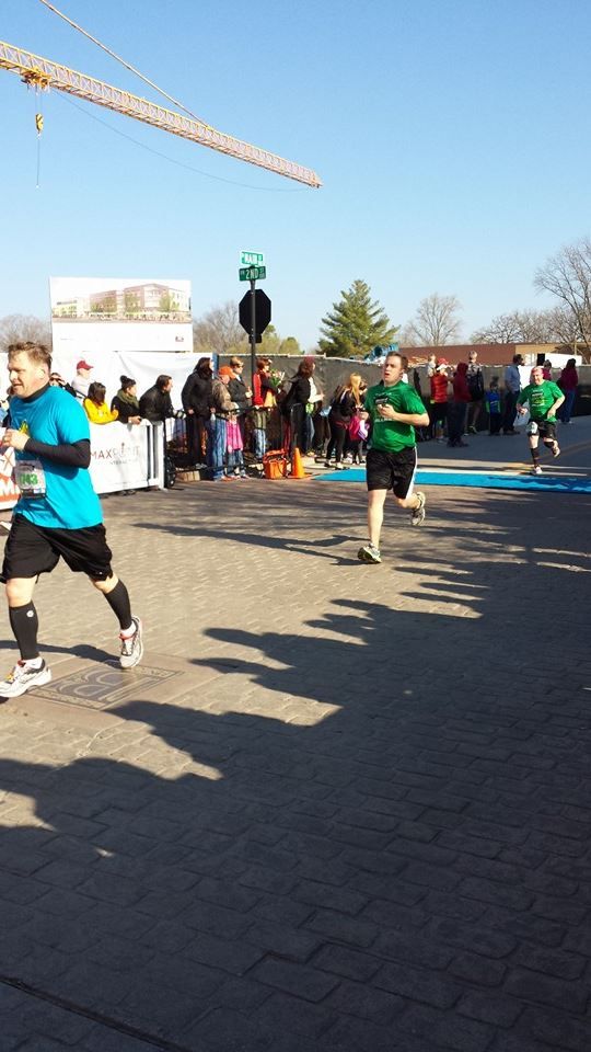 Mitchell Running a Half Marathon