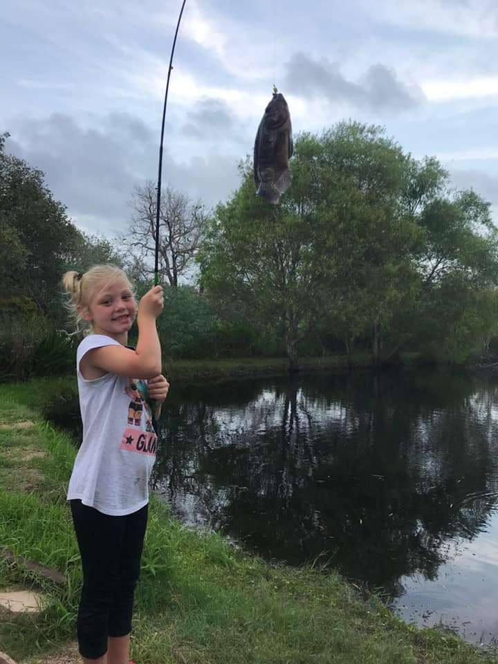 Fishing With Our Niece