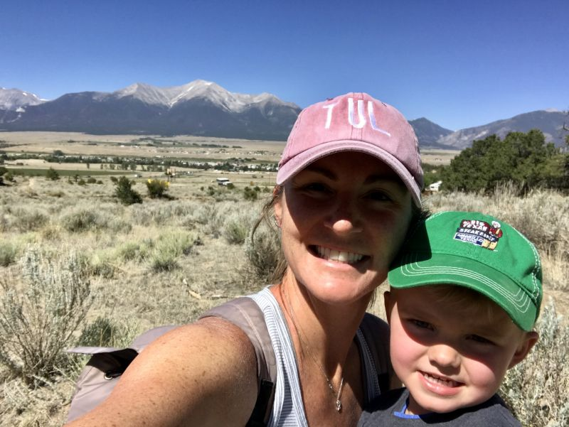 Hiking in Buena Vista, Colorado