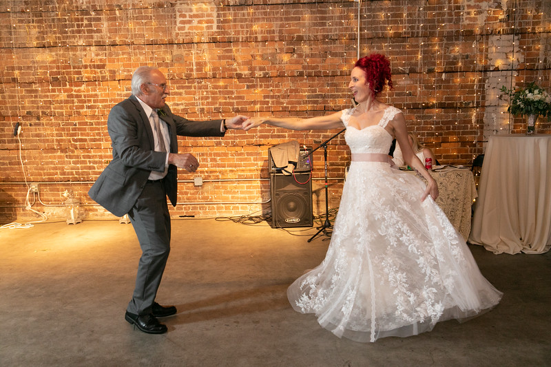 Kasandra & Her Dad Swing Dancing