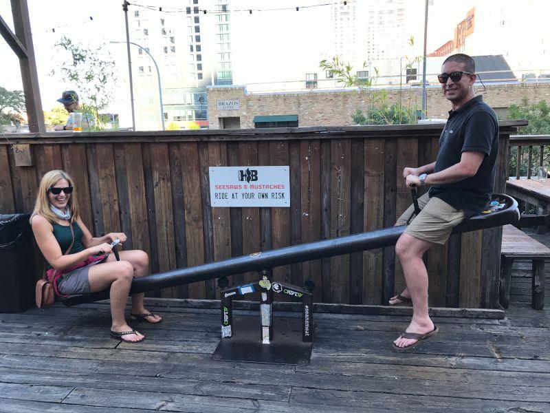 Seesawing in Austin