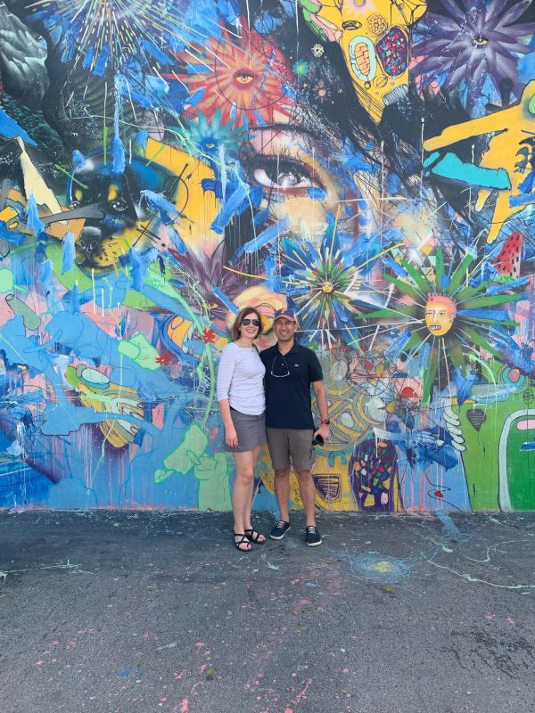Beautiful Mural in Miami