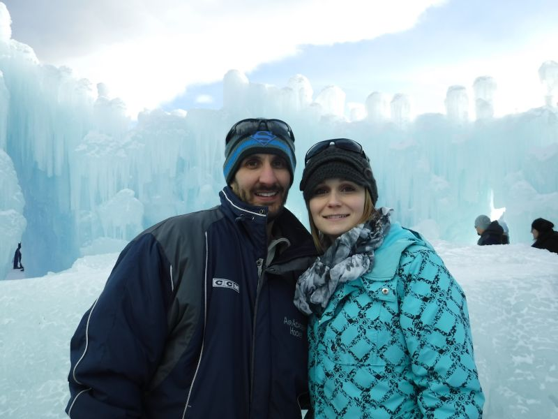 Fun at the Ice Castle