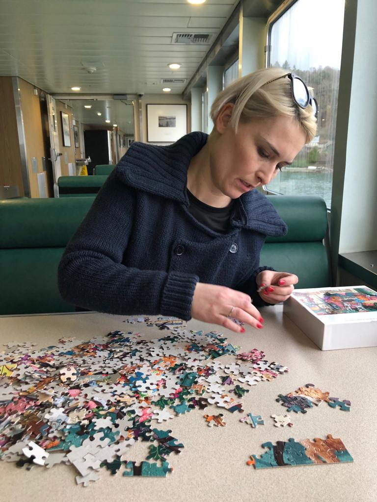 Don't Interrupt While the Puzzle Master is Working