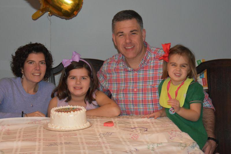 Celebrating Molly's Birthday