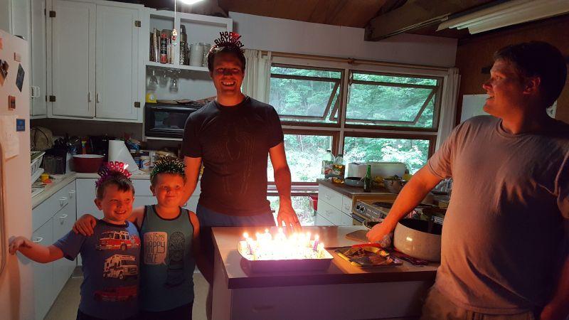 Celebrating Ryan's Birthday at His Best Friend's Cabin