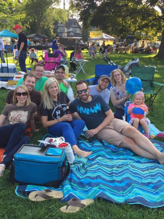 Summer Concert in the Park with Friends