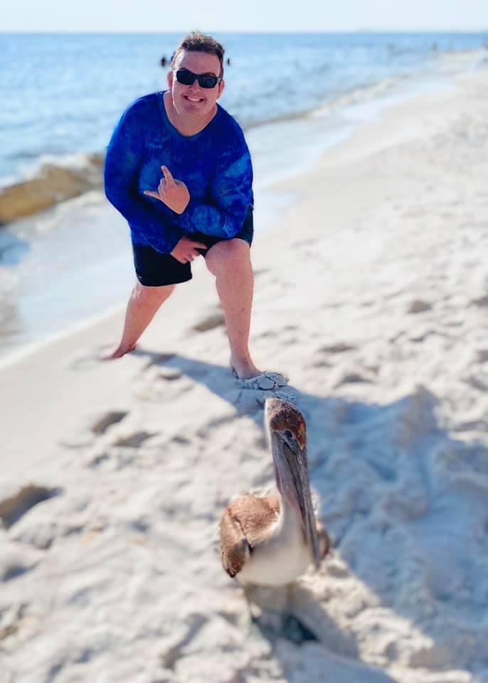 Shaun at the Beach