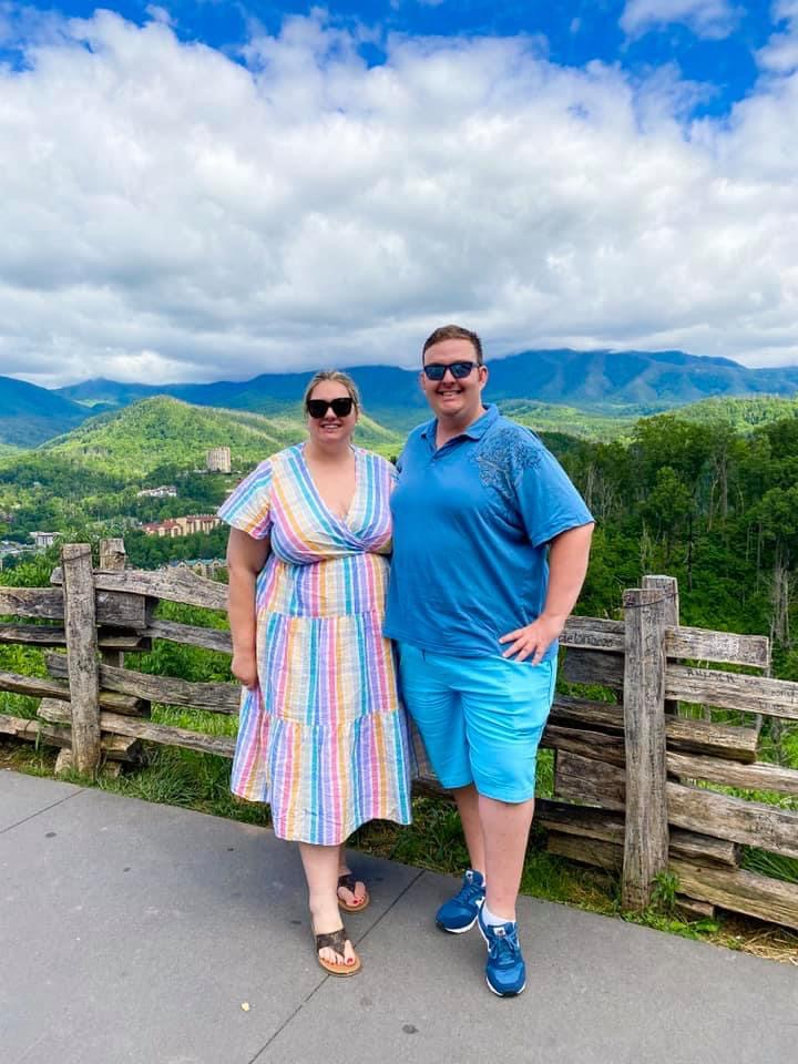 Overlook in the Great Smoky Mountains
