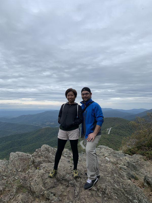 Hiking in Shenandoah