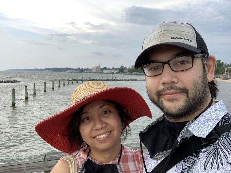 At the Chesapeake Beach