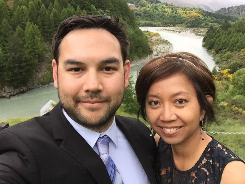 At a Cousin's Wedding in New Zealand
