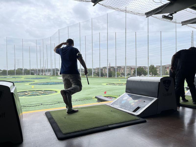 Sunday Top Golf