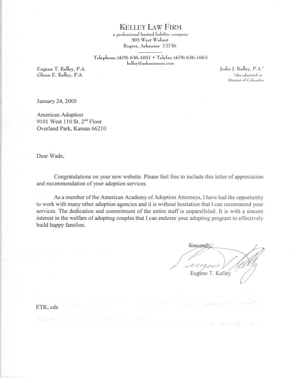 Sample Letter Of Character Reference For Adoption Cover